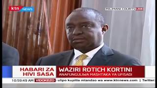 CS Rotich arraigned in court over corruption charges