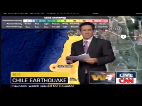 Earthquake Chile 8.8 Magnitude 27th 2nd 2010.
