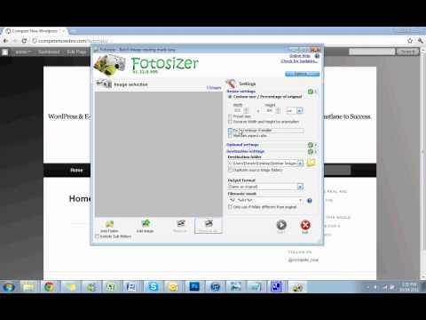 fotosizer freeware