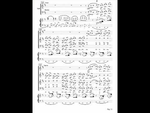 Beethoven 9th symphony , Alegro assai, (237-327) ,Alto ,Voice over