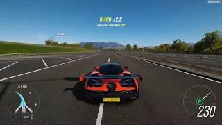 Forza Horizon 4 recording test using NVIDIA ShadowPlay