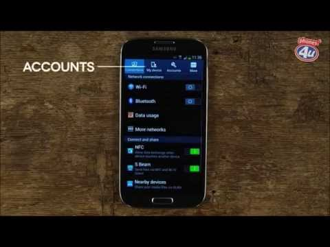 How To Set Up Email Accounts On Your Samsung Galaxy S4