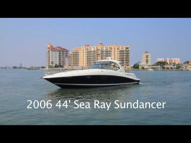 2006 44' Sea Ray Sundancer