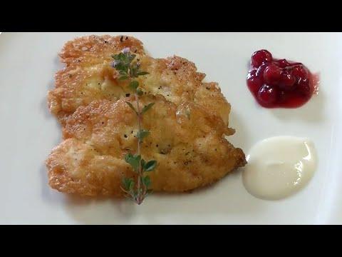 Hühnerschnitzel Milanaise - Leckere Hühner Rezepte - Lookcook - Lasst uns kochen! #61