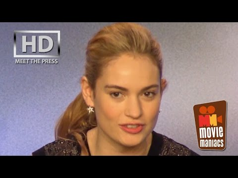 Cinderella | meet the press FULL press conference Berlin (2015)