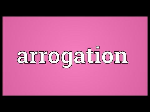 Header of arrogation