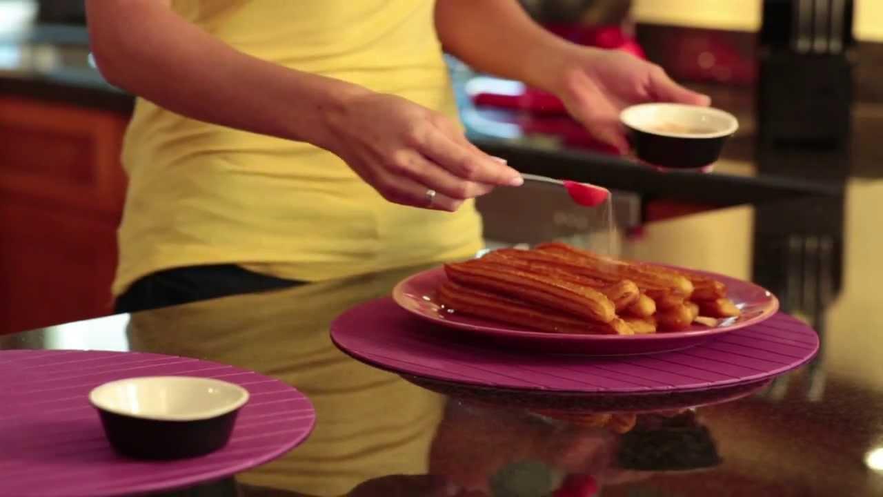 C mo hacer churros que rica vida youtube - Como hacer churros en casa ...