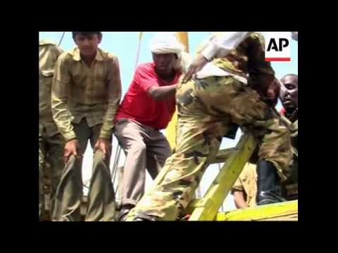 CLIENT REPLAY PRESS TV Somali troops storm hijacked ship from Dubai, arrest 7