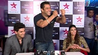 UNCUT: Salman Khan's Funny Press Conference During Hero Promotions On Dance Plus