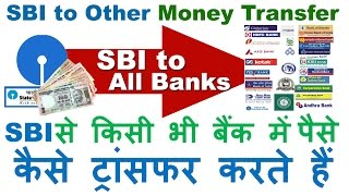 How to Transfer Money from SBI to Other Bank Account using the Online SBI- Internet Banking SBI