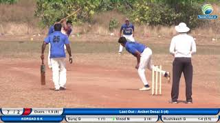 4th match || PERNEM PREMIER LEAGUE 2018 | PERNEM | GOA day 3