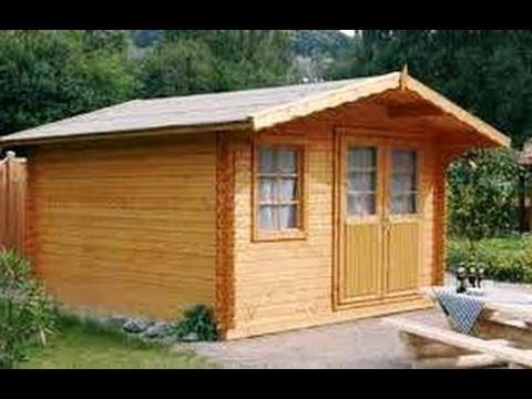 C mo hacer una caseta de madera youtube for Caseta jardin leroy merlin