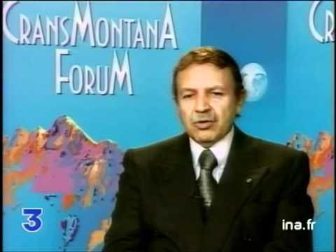 ALGERIE Interview Abdelaziz Bouteflika sur france3