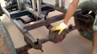 carro caseiro com motor de moto.