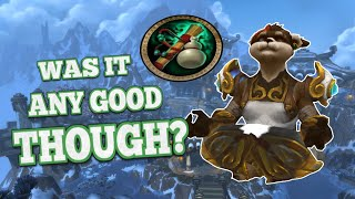 MONK in Mists of Pandaria: Was it Any Good Though?