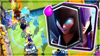 Clash Royale - CLONED DOUBLE WITCH! Amazing Deck