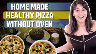 How to make Healthy Dinner | Restaurant Style Pizza | GunjanShouts