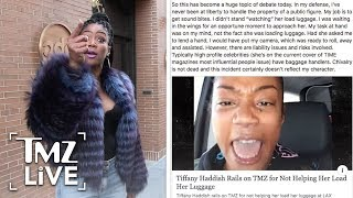 Tiffany Haddish Rails On TMZ! | TMZ Live