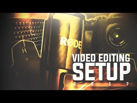 ULTIMATE VIDEO EDITING DESK SETUP TOUR! (2017)