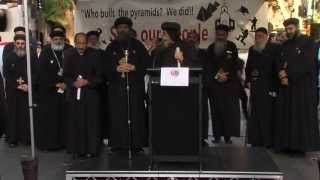 ACM Coptic Rally Sydney closing remarks and Prayer April 2013