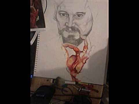 Django Unchained Calvin Candie Drawing