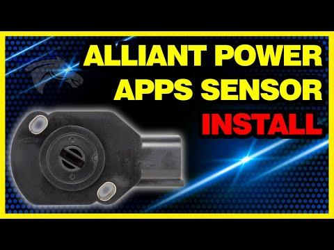 Alliant Power APPS Sensor Install - 2003 Dodge Cummins #AP63458