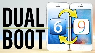 Dual Boot iOS 6 & iOS 9 on an iPhone!