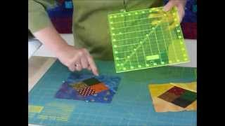 How to use delicious leftovers to make a Floating 4-patch block - Quilting Tips & Techniques 177
