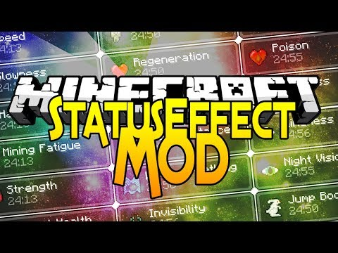 Minecraft Mods - Status Effect HUD - Improve your PVP ! 1.7.10