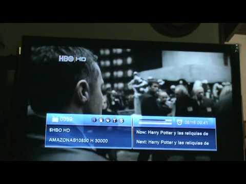 Capturando canales HD. con Azfox Z2s con SKS(Amazonas 61W y Hispasat 30W) desde Maracay Venezuela