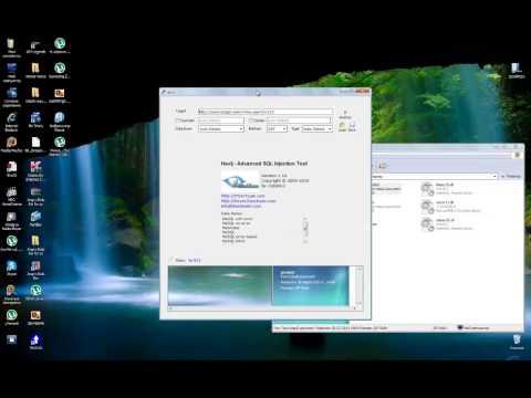 Посмотреть ролик - Взлом сайтов, SQL инъекция. Hacking-planet 3. программи
