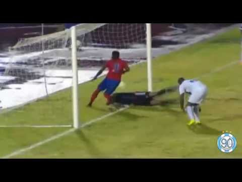 Steeve Elana amazing fail - Martinique vs Haïti | CFU Caribbean Cup
