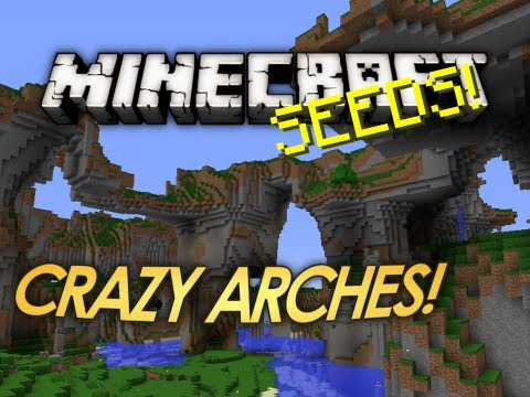 Minecraft Seeds: Natural Arch Overhangs! (1.6.2, 1.5, 1.4)