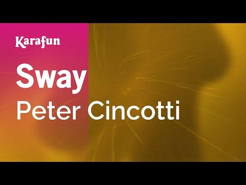 Karaoke Sway - Peter Cincotti *