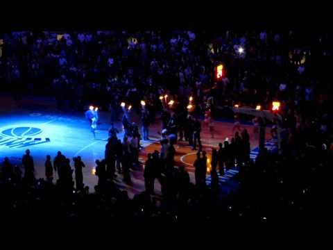 LINSANITY at the Garden: Jeremy Lin and Knicks intros before facing Lakers