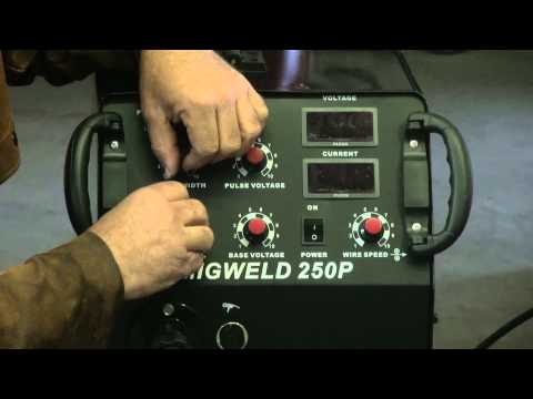 How to Use a Longevity MIG Welder With Pulse Control