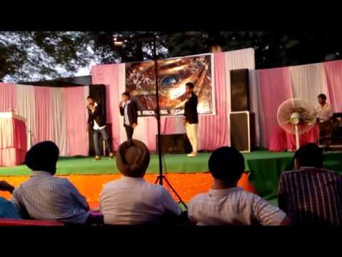 Suresh k Raina first stage perform in GZS CAMPUS BATHINDA