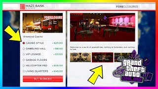 GTA 5 Online Casino DLC Update - Purchasing/Owning The Casino! Gambling Skills, Lottery & MORE!