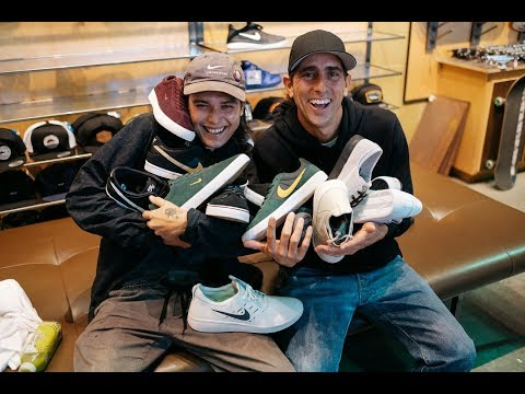 SHOE TALK: NIKE SB w/ Guy Mariano & Trevor Colden