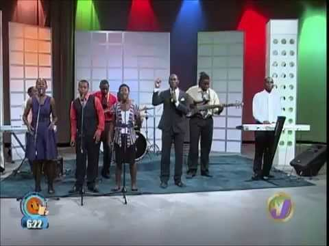 Adiel Thomas & Ministry LIVE on Smile Jamaica (Praise Him in Advance Nobody Greater)