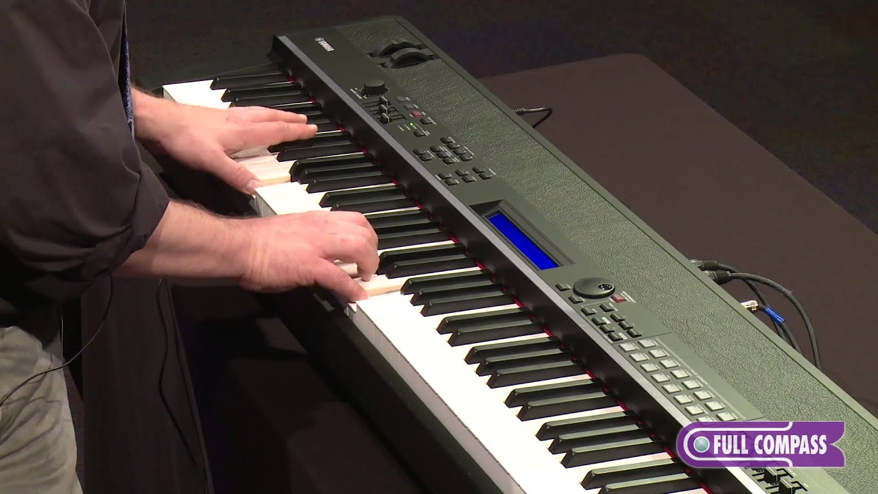 yamaha cp4 stage piano overview full compass youtube