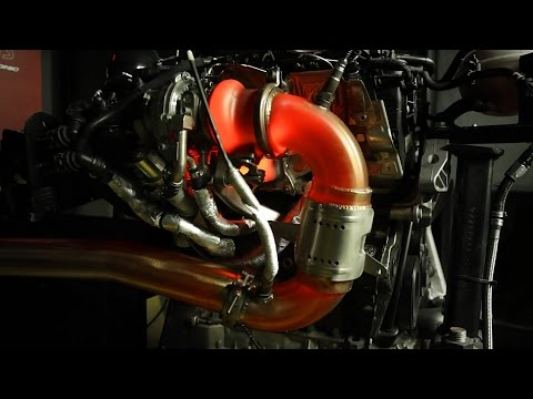 Unitronic Stage 2 Stress Testing 2.0 TSI® Gen3 MQB® Red Hot Turbo Glowing