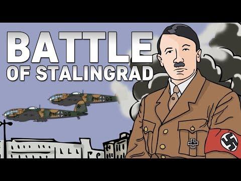 Battle of Stalingrad   Animated History