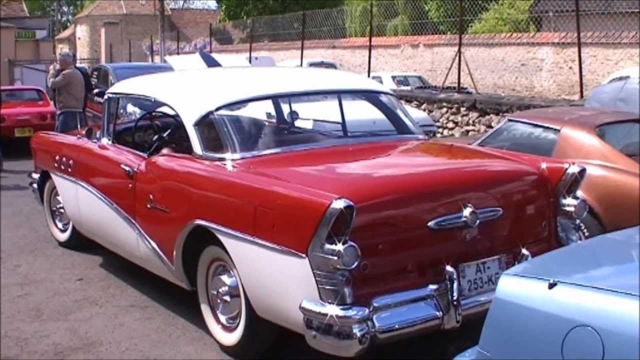 1955 buick riviera special 2 door hard top youtube for 1955 buick century 4 door hardtop