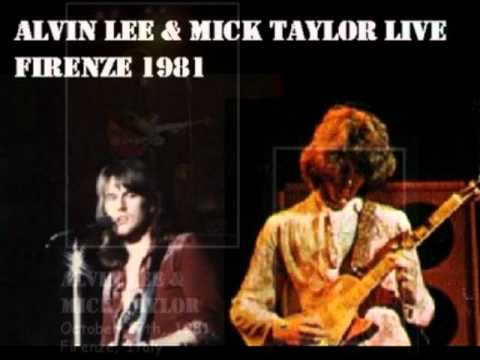 Alvin Lee&Mick Taylor Live 1981 Firenze Italy Slow Down