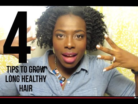 4 Tips to Grow Long Healthy Hair | - JenellBStewart