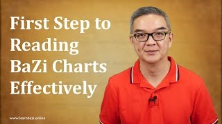 Your First Step to reading BaZi charts Effectively