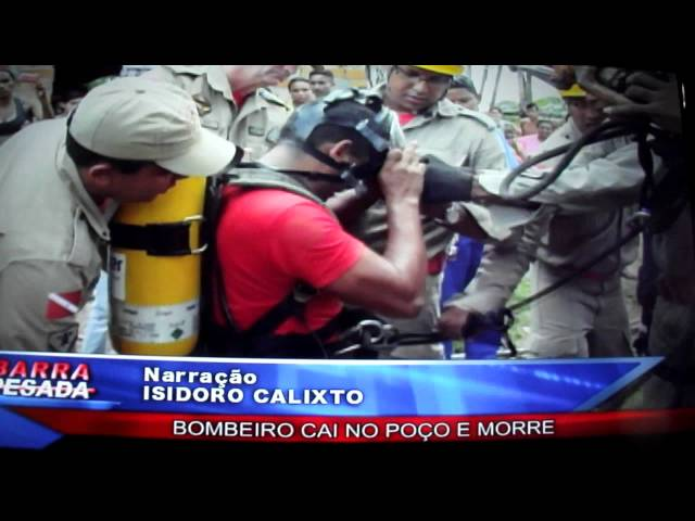 BOMBEIRO MORRE AO CAIR NO POÇO EM BARCARENA