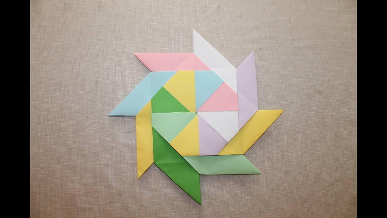 Что можно сделать из цветной бумаги оригами