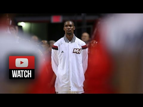Chris Bosh Full Highlights vs Wizards (2014.10.29) - 26 Pts, 15 Reb